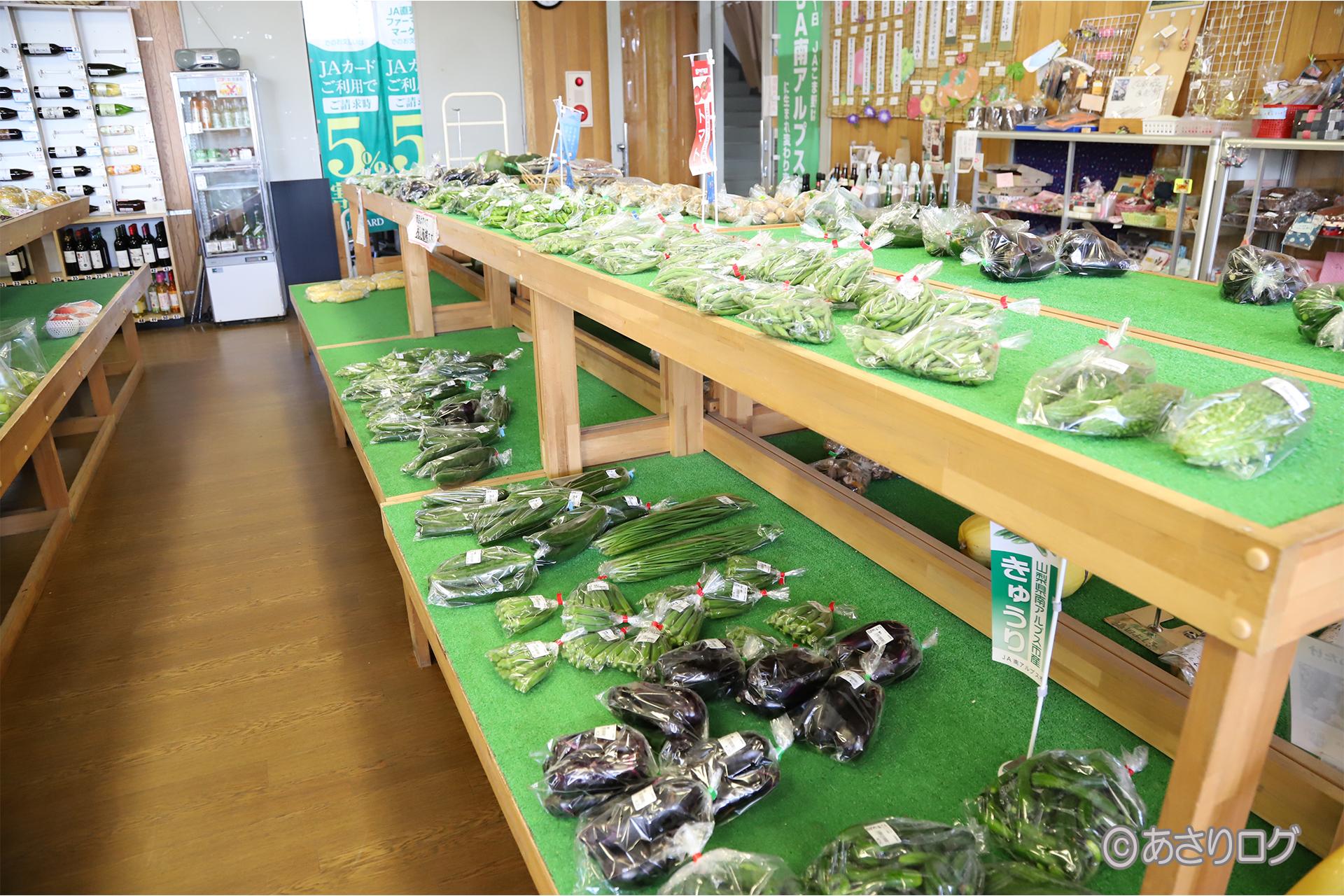 Yamanashi vegetables